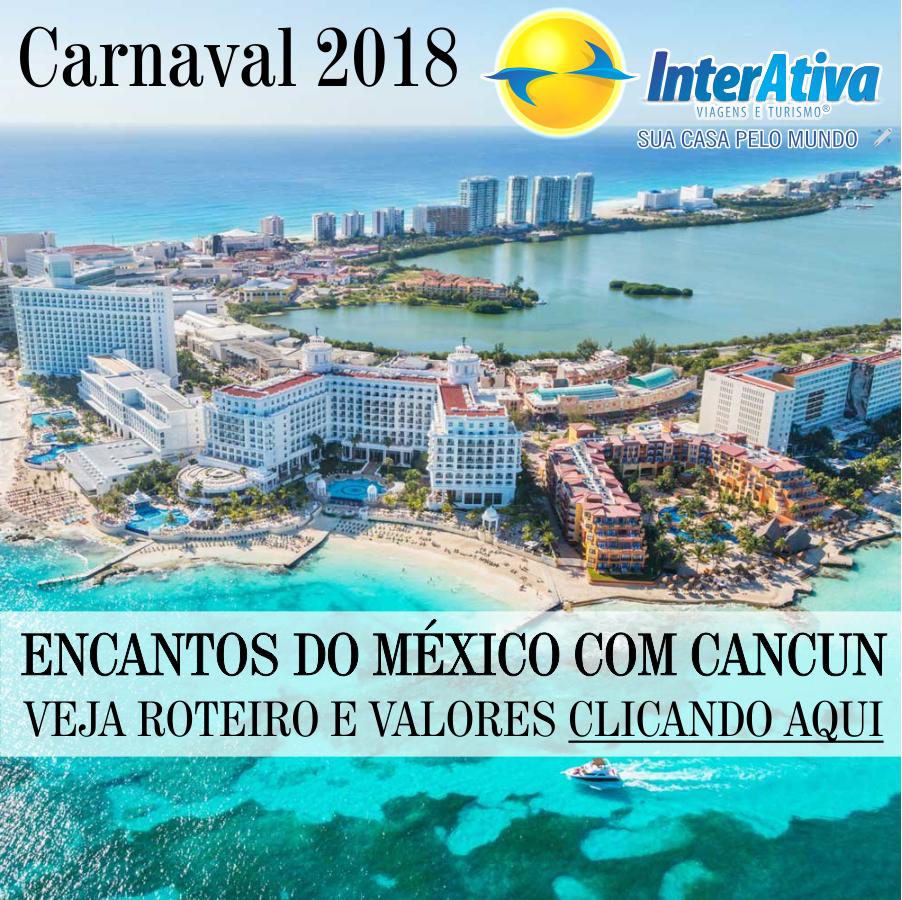 Encantos do México com Cancun