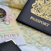bigstock-British-Passport-And-Map
